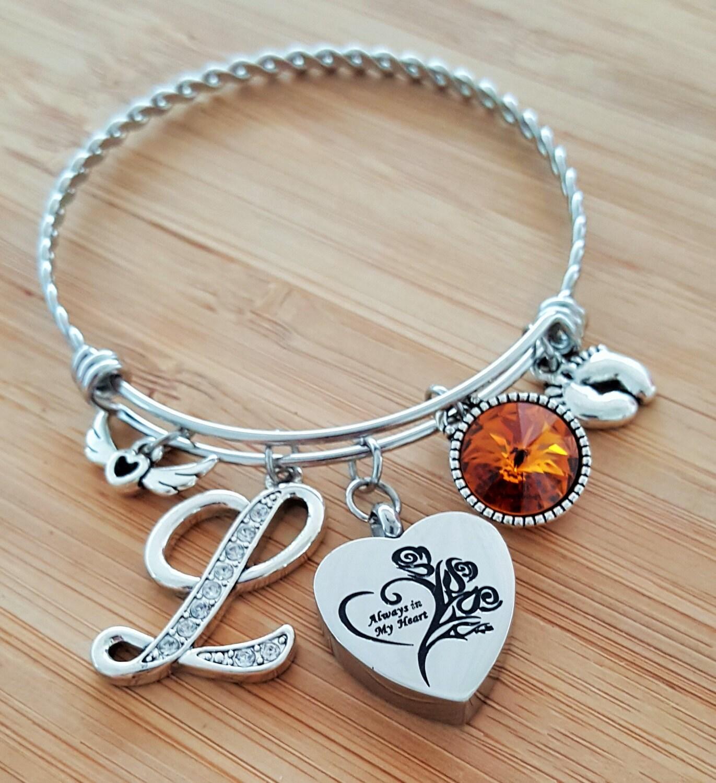 urn bracelet miscarriage stillbirth gift stillborn