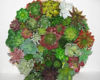 Vertical Succulent Planter, Vertical Garden, Faux Succulent, Modern Arrangement, Wall Hanging, Wall Art, Centerpiece, Unique Succulent Gift
