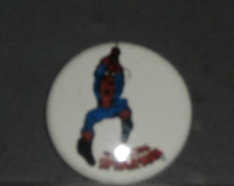 Vintage Amazing Spider-Man Button
