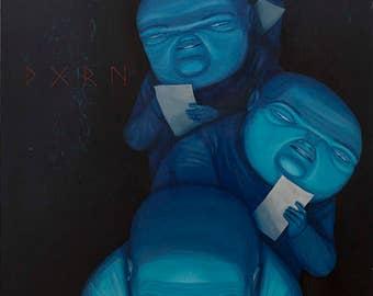 COPY RIGHT - Acrylic painting