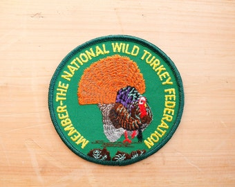 Vintage Member The National Wild Turkey Federation Patch