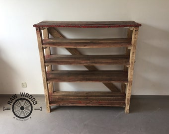 Scrap Wooden Shelf Closet