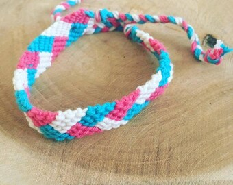 """Brazilian cotton """"Summer color"""" bracelet"""