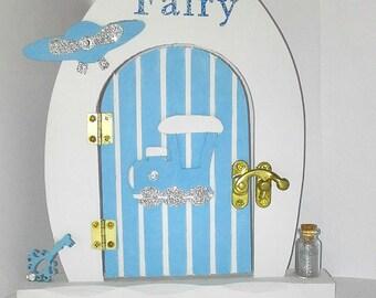 Boys fairy door etsy for Batman fairy door