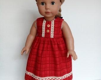 Red dress for Gotz doll
