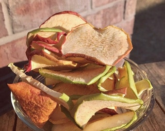 Dehydrated Apple Slices- Dog Treats (Or for you!)