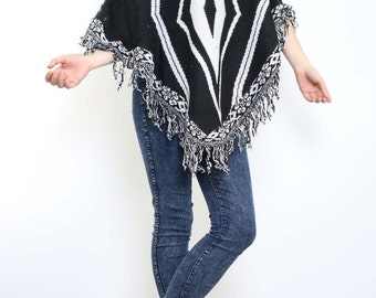 Poncho pull-on