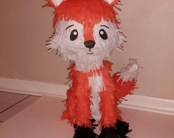 FOX PIÑATA. Handmade. New
