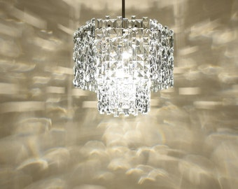 Vintage Chandelier - 18 Сrystal Pendants - Crystal chandelier lighting