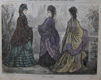 Fashion plate-1872-toilet for strollers