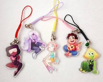 "Steven Universe 1.5"" Acrylic Charms"