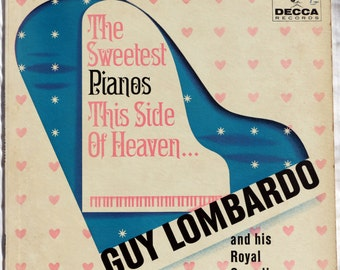 Guy Lombardo - Sweetest Piano This Side Of Heaven - 1961 - Vinyl - Decca - DL 4123