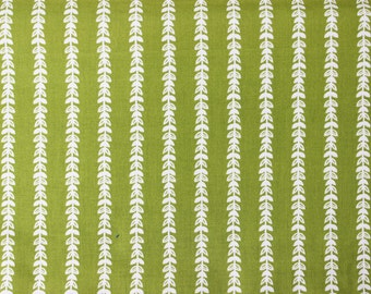 Strawberry Tea Party Honey Vine by Michael Miller Fabrics - Herb Green - Sold by the yard