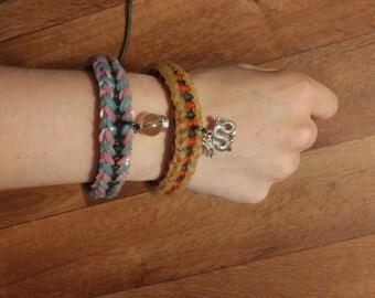 Charm Rainbow Loom Bracelet