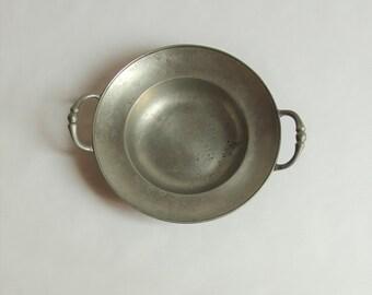 Vintage, Pewter Bowl