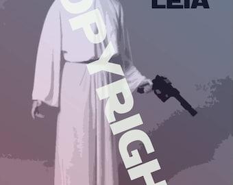 Star Wars Princess Leia Poster
