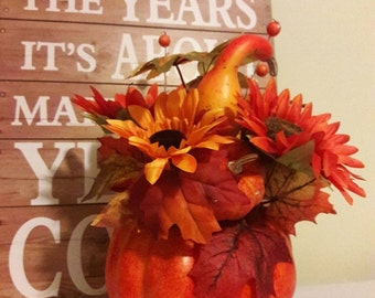 Fall Decor, Fall Table Centerpiece, Holiday Centerpiece, Fall Centerpiece, Thanksgiving Table Centerpiece, Indoor Autumn and Fall Decoration