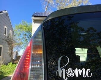 Home Sweet Roc Car Decal