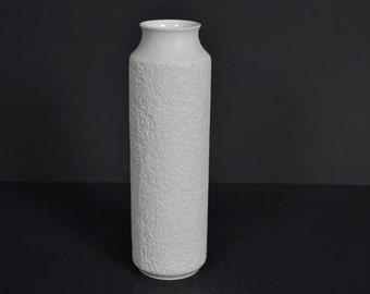 CM Hutschenreuther Hohenberg matt porcelain vase  -  Germany