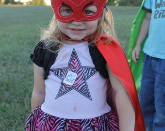 Owlette Cape and Mask, Owlette PJ Masks, PJ Mask costumes, Owlette costume, Owlette birthday party, PJ Masks party, capes for girls, pj mask