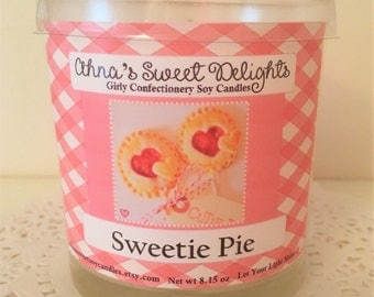 Sweetie Pie Girly Confectionery Soy Candle