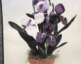 Iris - fabric flowers pattern by Artful Illusions