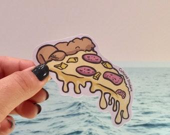 Cheesy Slice Pizza Sticker