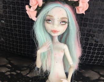 Monster High Repaint Rochelle Gargoyle - OOAK doll - Monster high doll - custom dolls - repainted monster high doll
