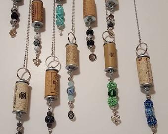 Wine Cork Jewelry and Designs