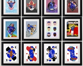 Toronto Blue Jays 11x14 Prints (See Description for all Prints)