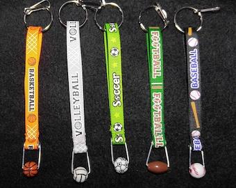 Sports Key chains/Zipper Pulls