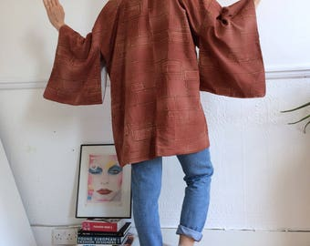 Vintage authentic Japanese kimono. New with tags. One size.
