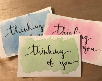 Thinking of You Post Cards