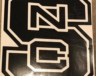 Wolfpack Decal Etsy