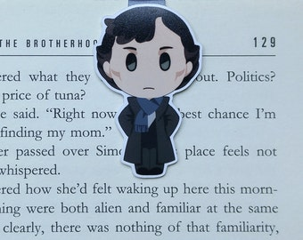 Sherlock - Magnetic bookmark - Sherlocked || sherlock holmes | book lover gifts | bookmark | bookish | bookmarks | magnetic bookmarks