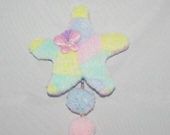 Fairy kei, decora, harajuku stars 2 in 1. Hairclip or Broche.