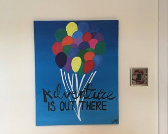Original 'Up' Themed Painting