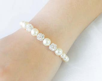 Set of 4 Bridesmaid Bracelet Set of 4