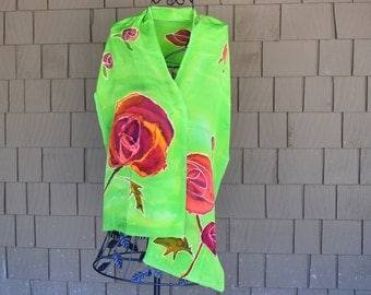 The Summer Rose scarf