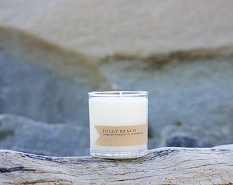 Folly Beach Candle | Sea Mist Scented Soy Candle | 9 oz Soy Candle | Charleston SC Inspired Candles