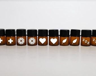 Essential oil sample | Etsy