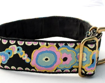 Luxury 38mm Jacquard Collar! 'FLOWER POWER'..Special Edition!