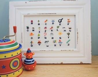 Alphabet Cross Stitch