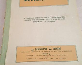 1944 Help Yourself to Better Speech guide.