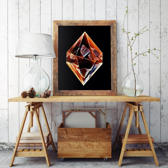 DIAMOND MOUNTAINS  | Wall art | Archival print | giclee prints | poster art | print wall | prints for sale | artwork | art prints