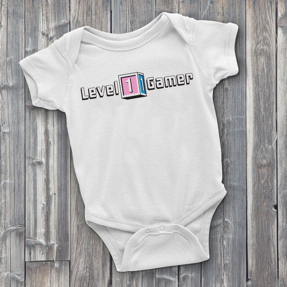 Level 1 Gamer 100% Soft Cotton Gaming ONESIE
