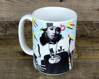 Missy Elliott MUG Misdemeanor Rapper Hip Hop legend gifts for hip hop lovers Girlfriend Gifts boyfriend gifts GIRL power