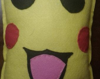 Pickachu  Pokemon decorative pillow plushie tou
