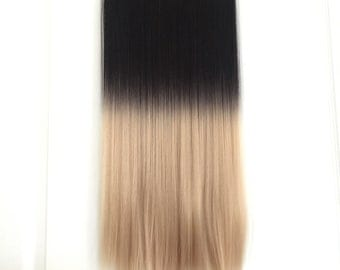 5 Clips 1B/15# Ombre Hair Extension