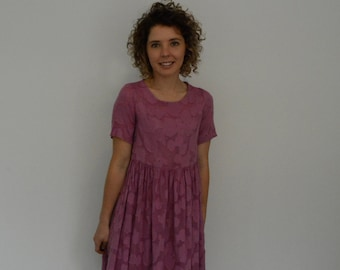 Smock dress PDF sewing pattern